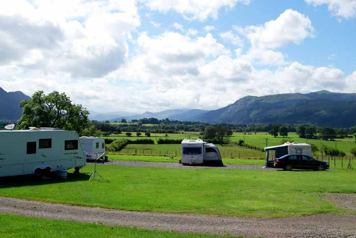 Caravan site outlook